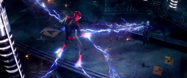 Looks like Spider-Man is in for a SHOCKING experience! ...no? No one? What if I said ''electrifying'' instead?